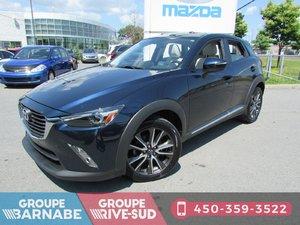 Mazda CX-3 ***GT AWD TOIT OUVRANT CUIR BLANC BLUETOOTH *** 2017
