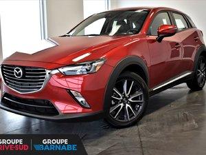 Mazda CX-3 GT FWD CUIR TOIT OUVRANT BLUETOOTH CAMERA DE RECUL 2018