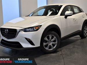 Mazda CX-3 GX +CLIMATISEUR +CAMERA + PNEUS HIVER INCLUS!!! 2019