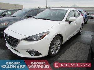 Mazda Mazda3 ***GT GPS CAMERA DE RECUL SIÈGE CHAUFFANT *** 2015