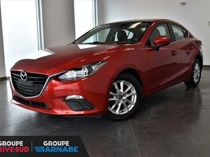 Mazda3 **GS SIÈGE CHAUFFANT BLUETOOTH CAMERA DE RECUL ** 2016