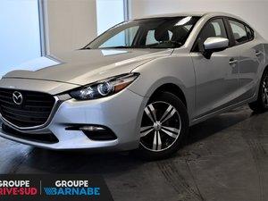 Mazda Mazda3 GX GR. COMMODITÉ+CLIMATISEUR+CAMERA 2017