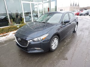 Mazda Mazda3 SPORT GS A/C TOIT CAM ET SIEGES CHAUFFANT 2017