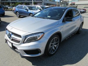 2015 Mercedes-Benz GLA45 AMG 4MATIC SUV