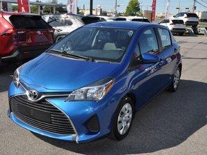 2016 Toyota Yaris LE CERTIFIÉ A/C 5 PORTES