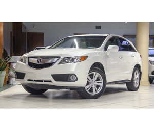 2015 Acura RDX **1 OWNER*NO ACCIDENTS*LOW KM*LEATHER*SUNROOF*HEAT