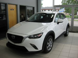 Mazda CX-3 GX fwd camera DEMARREUR 2017