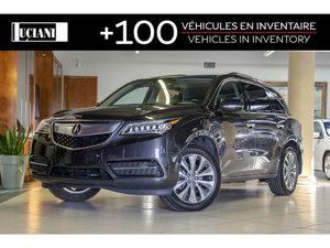 2016 Acura MDX NAVI PKG**1 OWNER*GPS*BLIND SPOT*ADAPTIVE CRUISE**