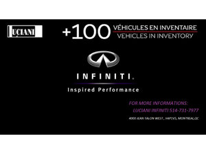 Infiniti Q60 2017 Infiniti Q60  3.0t, GPS , BOSE , COUPE ! 2017