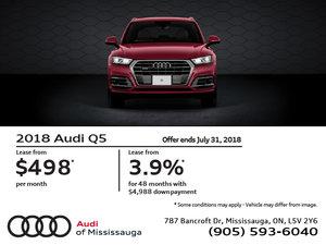 2018 Audi Q5 July Offer