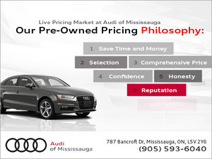 Audi Promotions Special Offers Audi Of Mississauga