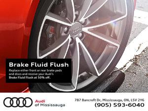 March Brake Fluid Flush Special