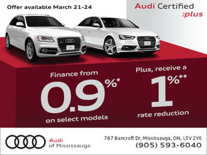 Audi Certified :plus Sales Event