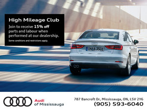 Join our High Mileage Club
