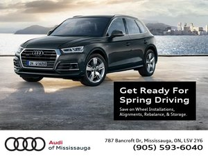 Get Your Audi Ready For Spring Driving