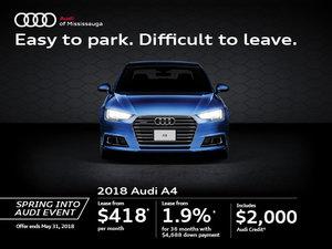 2018 Audi A4 Promotion