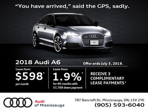 Audi A6 Offer