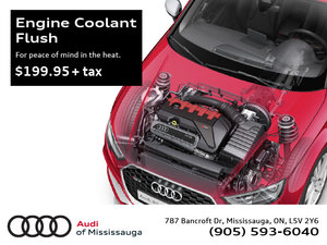 July Engine Coolant Flush Promotion