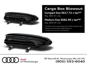 Cargo Box Blowout