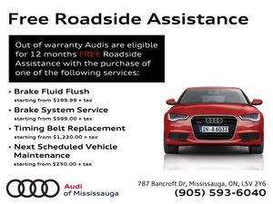 Free Roadside Assistance Offer