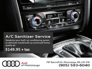 A/C Sanitizer Service