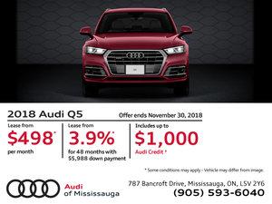 2018 Audi Q5 - November 2018