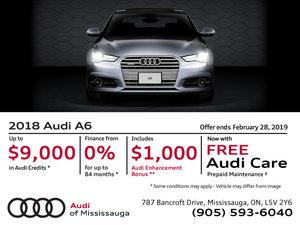 2018 Audi A6 - February Offer