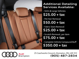 Additional Detailing Services