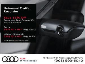 Audi Genuine Universal Traffic Recorder