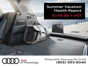 Summer Vacation Health Report
