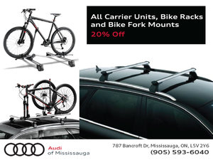 20% Carrier Units, Bike Racks and Fork Mounts