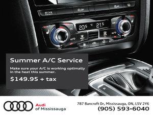Summer A/C Service