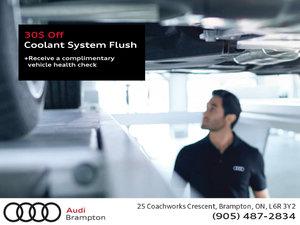 30$ Off Coolant System Flush