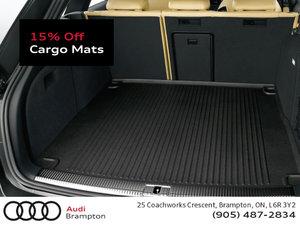 15% Off Cargo Mats