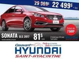 La Sonata GLS 2017 en promotion