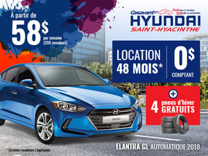 Elantra GL automatique 2018