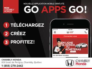 Chambly Honda lance sa nouvelle application mobile !