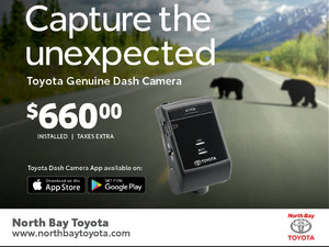 Genuine Toyota Dash Cam