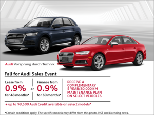 The Fall for Audi Sales event!