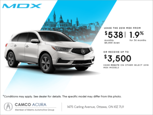 2018 Acura MDX