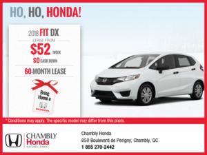 The New 2018 Honda Fit!