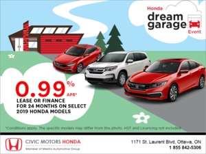 Honda Dream Garage Event