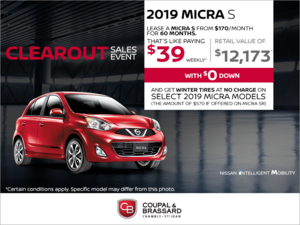 Get the 2019 Micra today!
