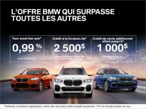 L'Offre BMW qui surpasse toutes les autres!