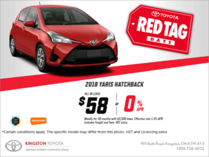The 2018 Toyota Yaris Hatchback!