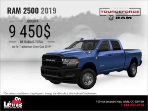 Procurez-vous le RAM 2500 2019