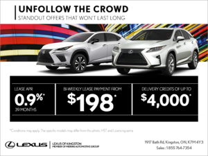 Unfollow the Crowd Lexus event!