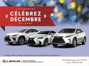 L'événement Célébrez Décembre de Lexus