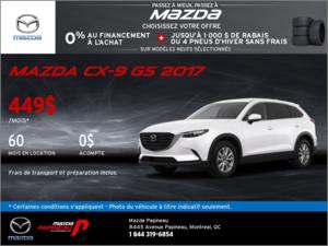 Obtenez la nouvelle Mazda CX-9 2017