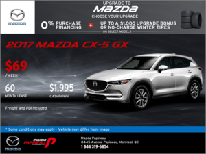 Get Our 2017 Mazda CX-5